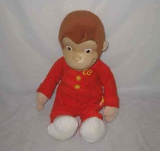 "Cute 17"" 2005 Marvel Toys CURIOUS GEORGE Plush Stuffed Doll - $56.91"