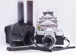 *Film Tested* MINOLTA SRT101 Film Camera MC ROKKOR-SG f1.7 55mm *Ready t... - $196.52