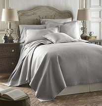 Caterina Grey Color 3pc Queen Size Luxurious Quilted Bedspread Set Tence... - ₨11,330.94 INR