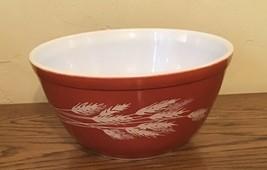 Vintage Pyrex Wheat Pattern Bowl #401 - $3.17