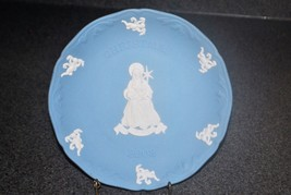 Blue Wedgewood Christmas 2002 Collector Plate - $14.01