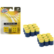 55 Gallon Drums Sunoco 2 piece Accessory Set 1/87 (HO) Scale by Classic ... - $16.05