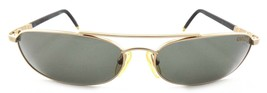 VINTAGE Carrera 4817 40 GOLD Metal Green Gray Lens Sunglasses 90s Austri... - $32.14