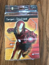 Party Express IRON MAN 8 Invitations Target: Invited Ships N 24h - $11.86