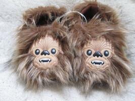 Star Wars Toddler Boys Brown Slipper size L (9/10) - $13.50