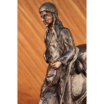 Mountain Man Bronze Sculpture Old West Western ... - $261.95