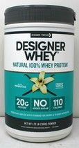 Designer Protein Designer Whey Natural 100% French Vanilla 1.72lbs - Exp 01/2021 - $28.04