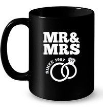 21st Wedding Anniversary Gift Mr Mrs Since 1997 Gift Coffee Mug - $13.99+