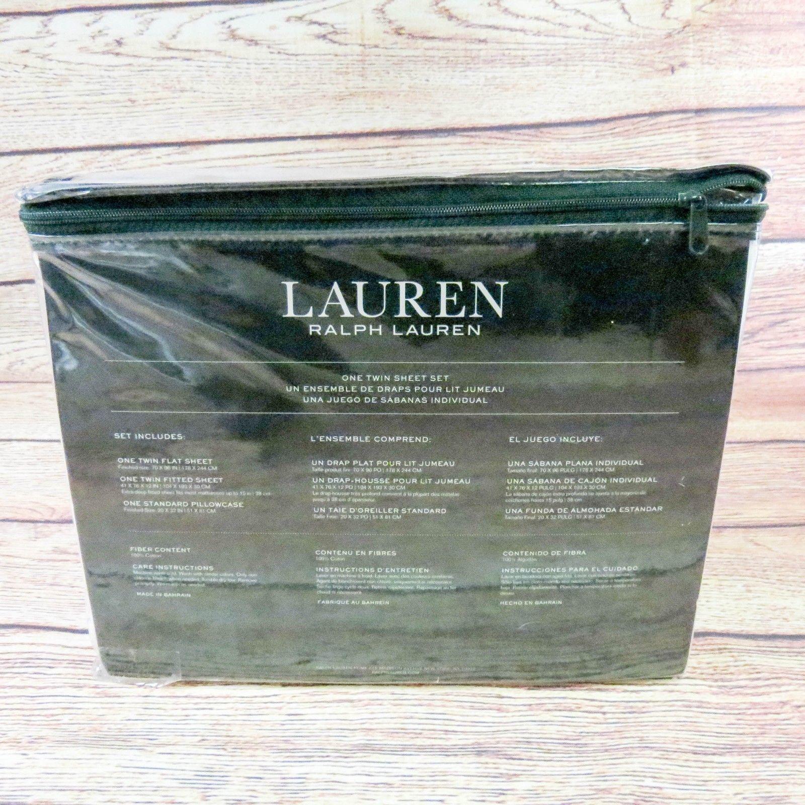 Ralph Lauren French Bulldog Twin Size 3 And 50 Similar Items