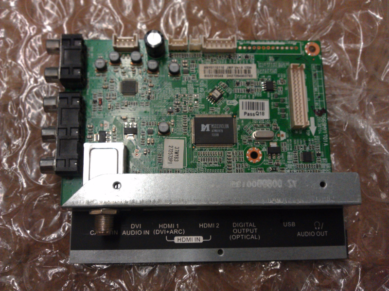 6MY0110110 Main Board  from Insignia NS-37D20SNA14 LCD TV