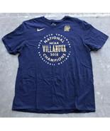 Nike VILLANOVA WILDCATS 2018 NCAA NATIONAL CHAMPIONS T-Shirt Men's 2XL BLUE - $16.93