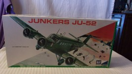 1/72 Scale MPC Models German Junkers JU-52 Airplane Kit BNOS #1202-200 - $33.41