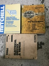 1986 TOYOTA VAN Service Repair Shop Workshop Manual OEM Set W Extras - $70.45