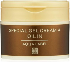 Shiseido Aqualabel Special Gel Cream Oil All In One  Moisturiser 90g  Free ship - $30.06