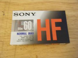 Sony HF60 Type I Normal Bias 90m Blank Cassette - NEW!!! - $7.43