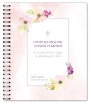 Homeschooling Lesson Planner: A Catholic Mother's Guide to Scheduling Her Week