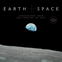 NEW 2019 Sealed 12x12 Earth and Space Astronomy Wall Calendar by Chronicle Books image 1
