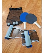 WS wild sports ping pong paddles, balls & net - $24.70