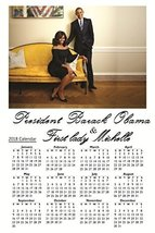 President Obama & First Lady Michelle 12 x 18 Poster w/ 2018 Calendar Dates - $14.84