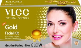 VLCC HERBALS GOLD SINGLE FACIAL KIT FOR LUMINOUS AND RADIANT COMPLEXION ... - $8.83