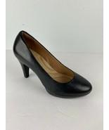 Clarks Indigo Women Wessex Wyvern Platform Pumps Shoes Heels 6.5 Black R... - $49.49