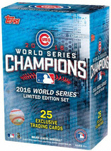 2016 Topps Chicago Cubs World Series Champions Card Set  - Factory Sealed! - $21.59