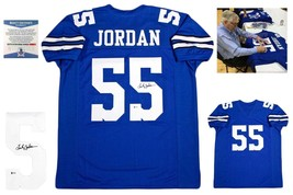 Lee Roy Jordan Autographed SIGNED Jersey - Beckett Witnessed Authenticated Royal - $118.79