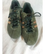 Tommy Hilfiger Danny Shoes Suede Green Woman's 8.5 M Us Size - $23.28