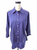 Covington Purple Button Down Work Career Shirt 18W 18 Plus Top - $14.00