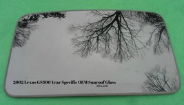 2002 Lexus GS300 Oem Factory Year Specific Sunroof Glass Free Shipping! - $125.00