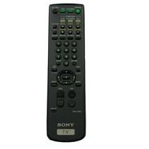 Genuine Sony TV Remote Control RM-Y136A Tested Works - $16.13