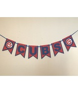Mlb Chicago Cubs Dodgers Banner - Cubs Banner - Cubs Birthday - Cubs - C... - $16.00