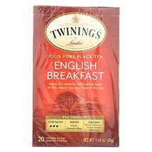 Twinings English Breakfast -- 20 Tea Bags - $4.97