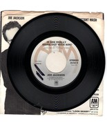 Joe Jackson 45 RPM record with Sleeve - $9.95
