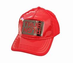 True Religion Men's Red True Logo Womens Baseball Fashion Trucker Hat Ca... - $49.47