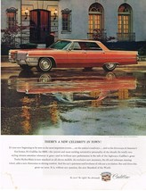 Vintage 1965 Magazine Ad Cadillac Theres A New Celebrity In Town So New So Right - $5.93