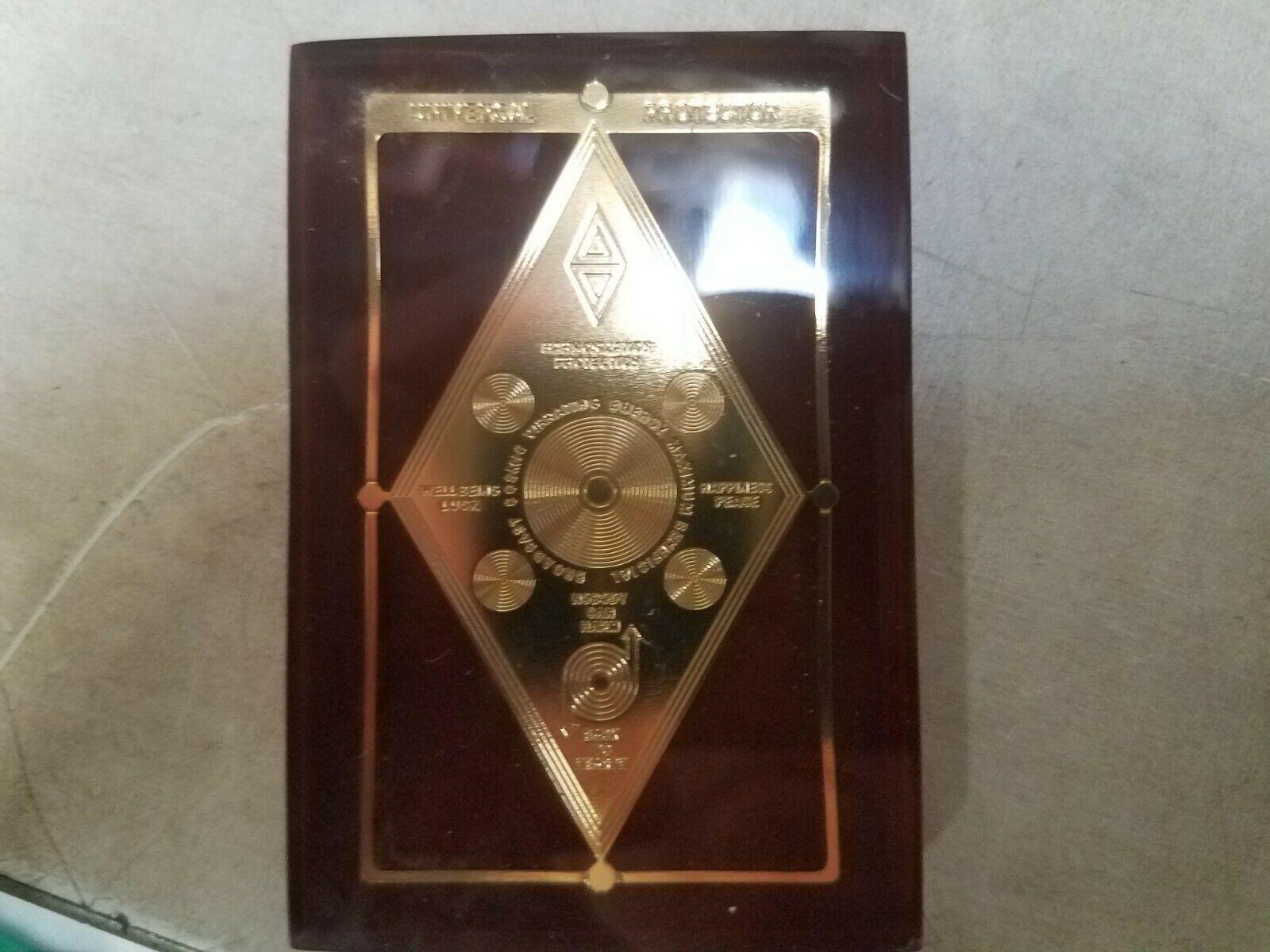 Harmonization Universal Protector Talisman in Lucite Charm Healing Reiki