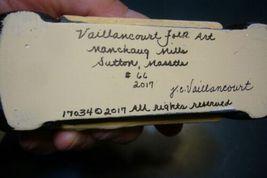 Vaillancourt Folk Art,Santa Driving a  Vintage Car  Signed by Judi Vaillancourt image 5