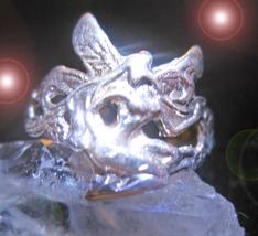 HAUNTED RING GOLDEN GODDESS PORTAL CALL FORTH ALL MYSTICAL TREASURES MAGICK - $377.77