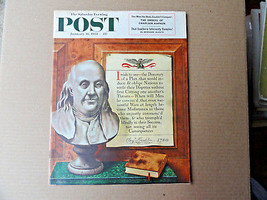 Saturday Evening Post Magazine January 16 1954 Complete - $12.99