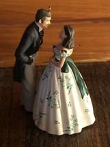"2012 Hallmark ""Gone with the Wind"" Christmas Ornament Scarlett & Rhett, ... - $19.75"