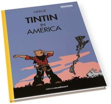 Tintin in America colorized english hardcover version - Waking Up New & Sealed image 1
