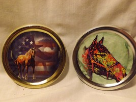 Set of 2 horse magnets IN STOCK - $10.00