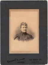 Emma Edmonds Cabinet Photo - Salem, Massachusetts - $17.50