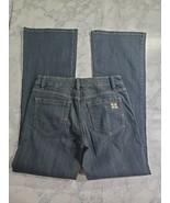 BCBG Maxazria Jeans Size 27 Medium Wash Mid Rise Carla The Five Pocket T... - $34.64