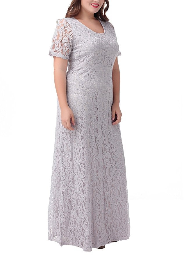 Lace maxi Dresses at Bling Brides Bouquet- Online Bridal Store image 7
