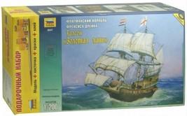 1/200 GOLDEN HIND GALEON Francis Drake Squadron ENGLAND SHIP Model ZVEZD... - $45.10
