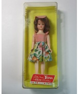 "Vintage Little Miss Teena 8"" Teenage Doll No. 516 in Plastic Case -1950's - $14.99"