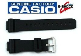 CASIO G-Shock DW-9000-1AV 16mm Original Black Rubber Watch BAND DW-9000-1BV - $49.95