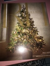 rh holiday catalog 2017 - $27.16